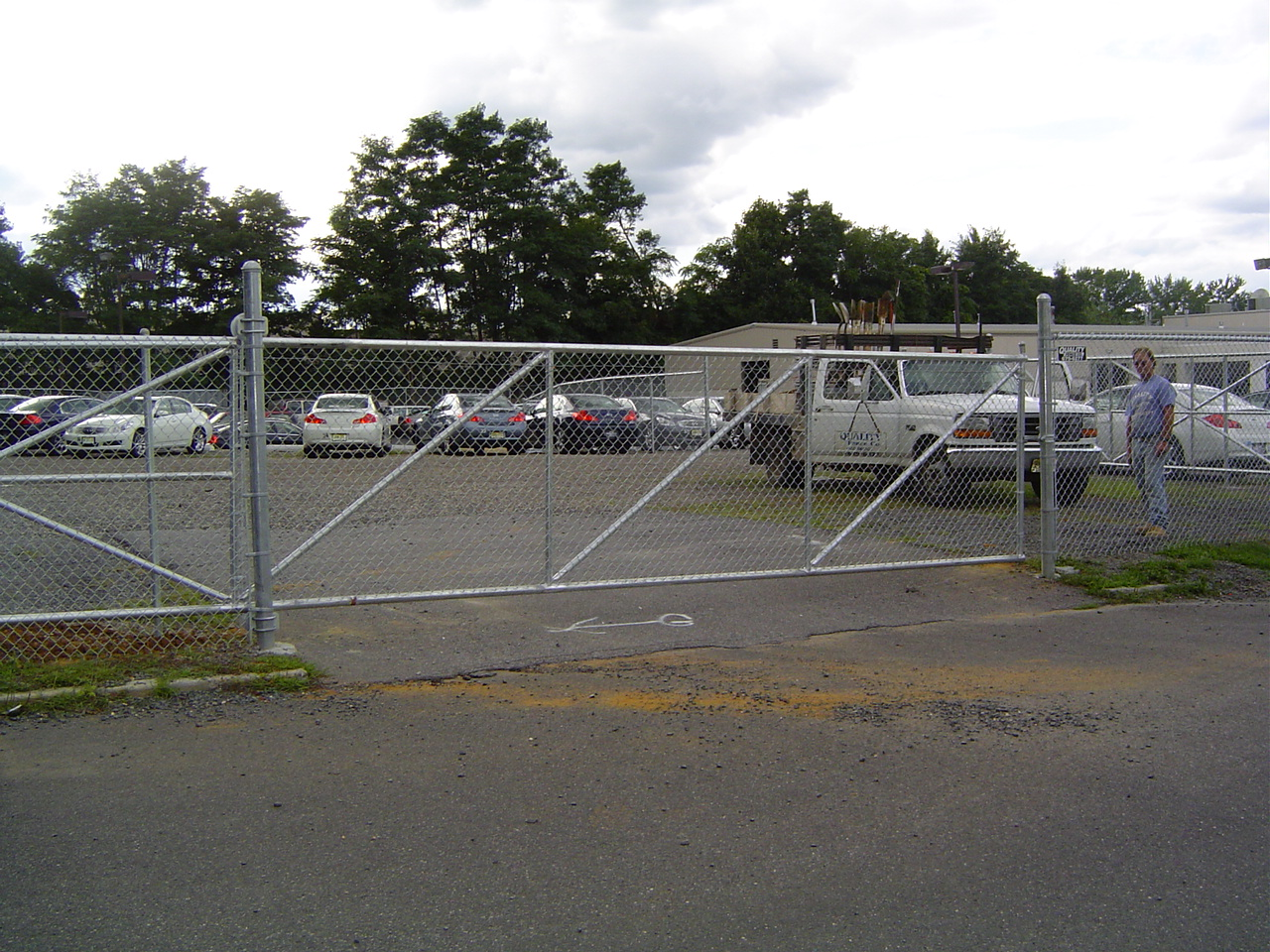 Commercial quality fence company qualityfence