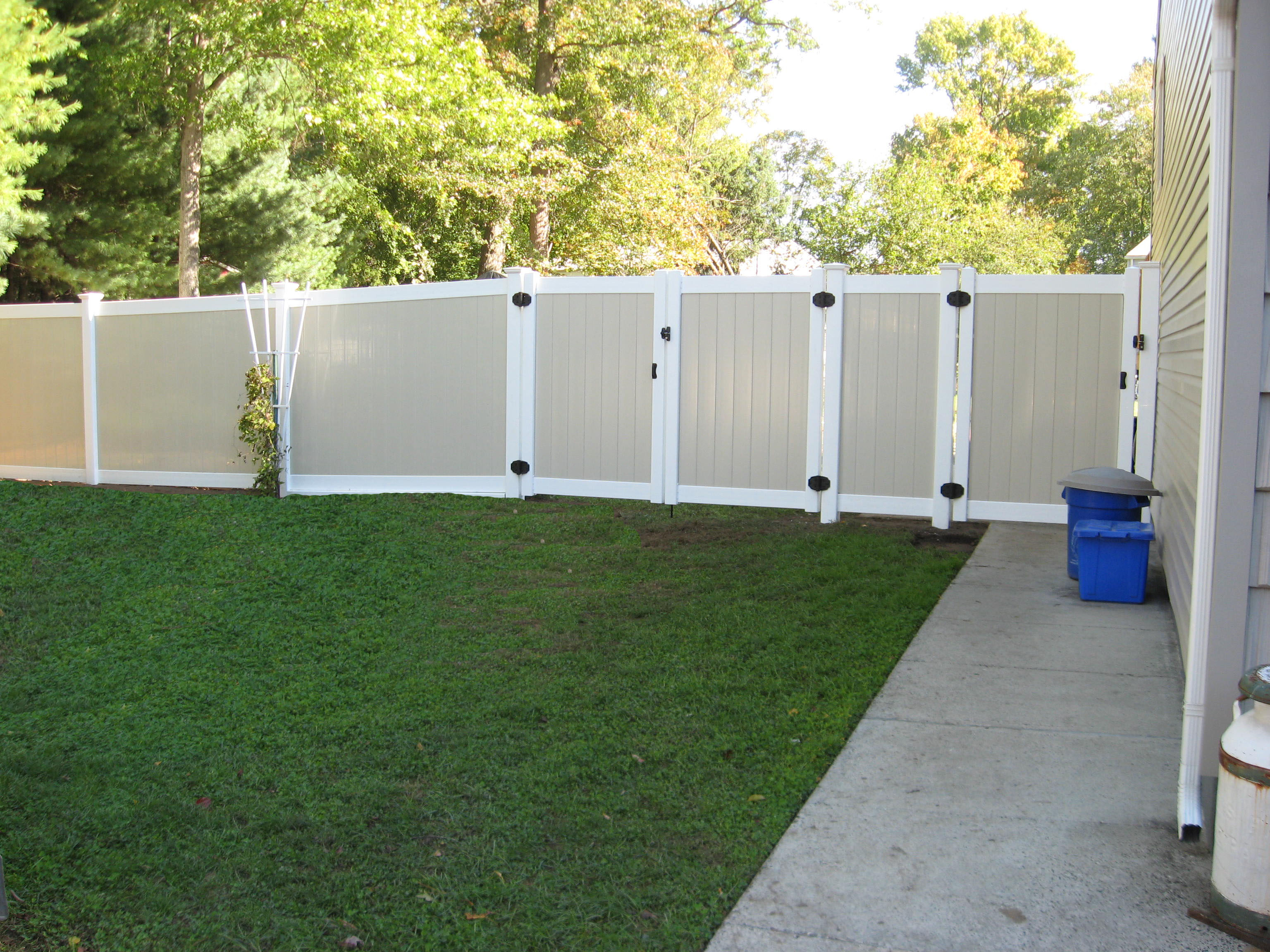 pvc fences to get that perfect look for your home get maximum privacy for your home with one of our pvc fences