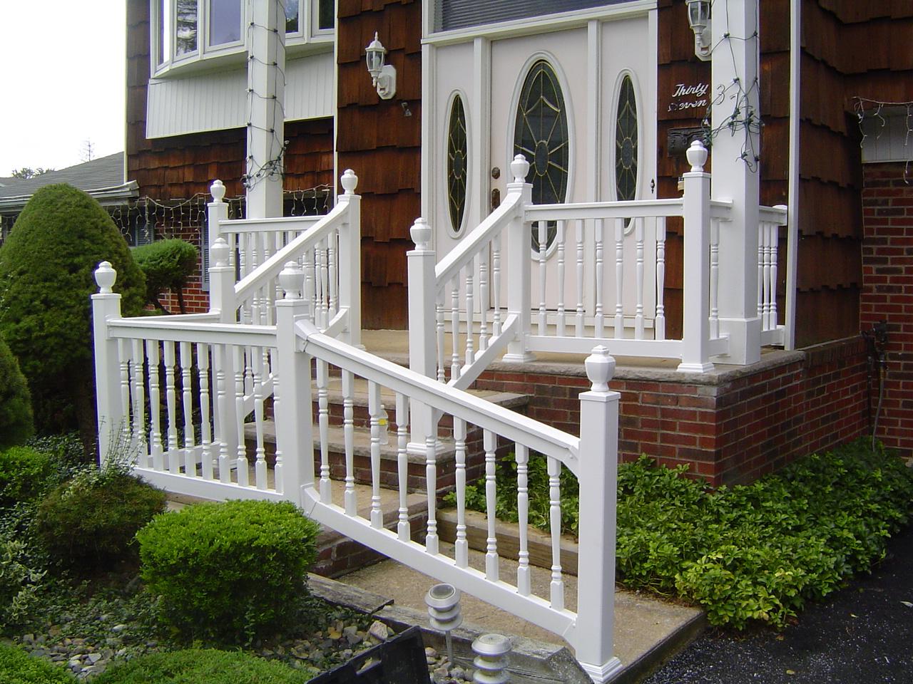 pvc railings quality fence company. Black Bedroom Furniture Sets. Home Design Ideas