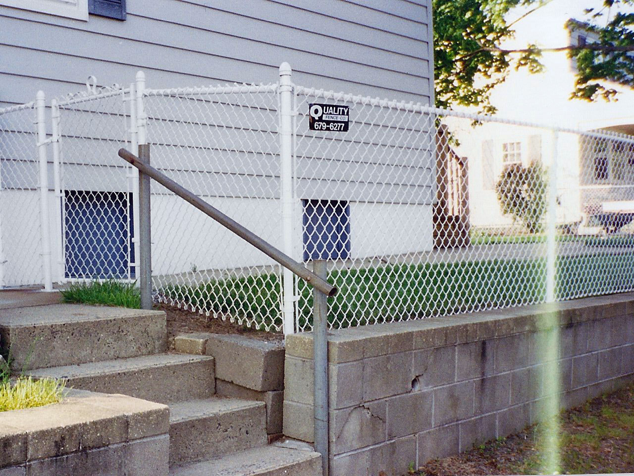 Before after quality fence company qualityfence